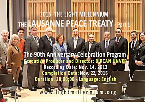 The Impact of the Lausanne Peace Treaty - Speakers and Organizers