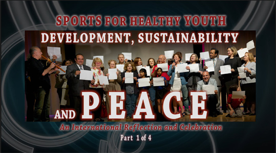 SPORTS FOR HEALTHY YOUTH DEVELOPMET, SUSTAINABILITY AND PEACE QPTV Schedule Part 1 ad 2 - August 2015
